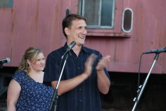 Amanda & Me perform, as part of Chamber Summer Concert Series, Train Station, Tamaqua (77)