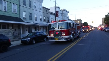 Apparatus Parade during Citz Fest, Citizens Fire Company, Mahanoy City, 8-21-2015 (102)