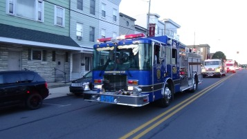 Apparatus Parade during Citz Fest, Citizens Fire Company, Mahanoy City, 8-21-2015 (105)