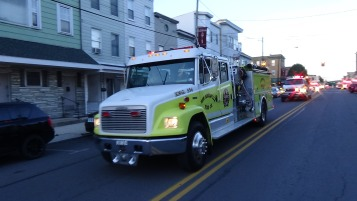 Apparatus Parade during Citz Fest, Citizens Fire Company, Mahanoy City, 8-21-2015 (107)