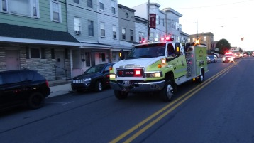 Apparatus Parade during Citz Fest, Citizens Fire Company, Mahanoy City, 8-21-2015 (108)