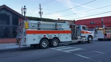 Apparatus Parade during Citz Fest, Citizens Fire Company, Mahanoy City, 8-21-2015 (11)