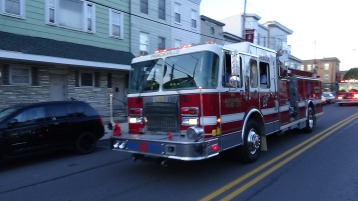 Apparatus Parade during Citz Fest, Citizens Fire Company, Mahanoy City, 8-21-2015 (112)