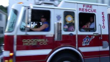 Apparatus Parade during Citz Fest, Citizens Fire Company, Mahanoy City, 8-21-2015 (113)