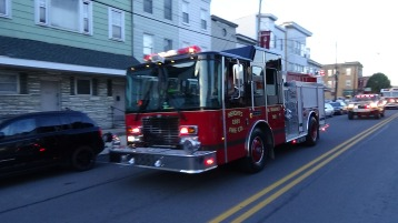 Apparatus Parade during Citz Fest, Citizens Fire Company, Mahanoy City, 8-21-2015 (114)