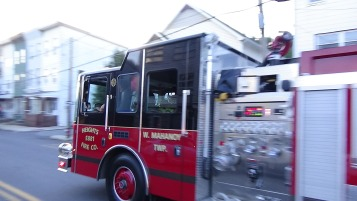Apparatus Parade during Citz Fest, Citizens Fire Company, Mahanoy City, 8-21-2015 (115)