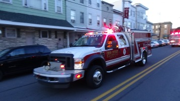 Apparatus Parade during Citz Fest, Citizens Fire Company, Mahanoy City, 8-21-2015 (119)