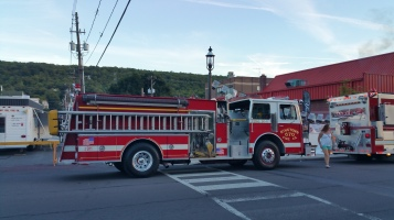 Apparatus Parade during Citz Fest, Citizens Fire Company, Mahanoy City, 8-21-2015 (12)