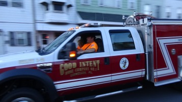 Apparatus Parade during Citz Fest, Citizens Fire Company, Mahanoy City, 8-21-2015 (120)