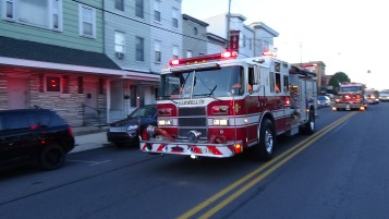 Apparatus Parade during Citz Fest, Citizens Fire Company, Mahanoy City, 8-21-2015 (121)