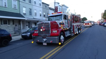 Apparatus Parade during Citz Fest, Citizens Fire Company, Mahanoy City, 8-21-2015 (123)