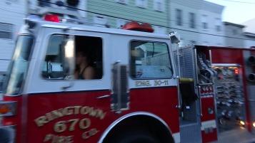Apparatus Parade during Citz Fest, Citizens Fire Company, Mahanoy City, 8-21-2015 (125)