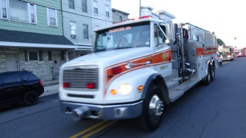 Apparatus Parade during Citz Fest, Citizens Fire Company, Mahanoy City, 8-21-2015 (126)