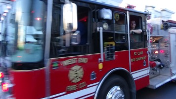 Apparatus Parade during Citz Fest, Citizens Fire Company, Mahanoy City, 8-21-2015 (129)