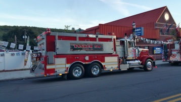 Apparatus Parade during Citz Fest, Citizens Fire Company, Mahanoy City, 8-21-2015 (13)