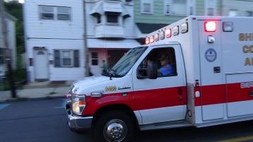 Apparatus Parade during Citz Fest, Citizens Fire Company, Mahanoy City, 8-21-2015 (137)