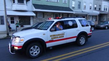 Apparatus Parade during Citz Fest, Citizens Fire Company, Mahanoy City, 8-21-2015 (139)