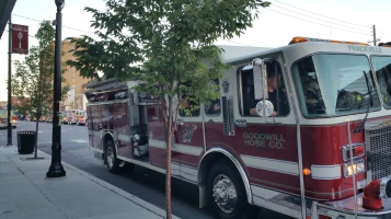 Apparatus Parade during Citz Fest, Citizens Fire Company, Mahanoy City, 8-21-2015 (14)