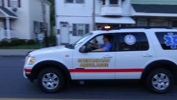 Apparatus Parade during Citz Fest, Citizens Fire Company, Mahanoy City, 8-21-2015 (141)
