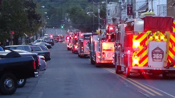 Apparatus Parade during Citz Fest, Citizens Fire Company, Mahanoy City, 8-21-2015 (142)