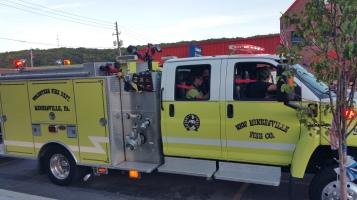 Apparatus Parade during Citz Fest, Citizens Fire Company, Mahanoy City, 8-21-2015 (16)
