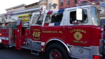 Apparatus Parade during Citz Fest, Citizens Fire Company, Mahanoy City, 8-21-2015 (161)