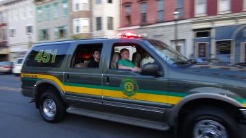Apparatus Parade during Citz Fest, Citizens Fire Company, Mahanoy City, 8-21-2015 (167)