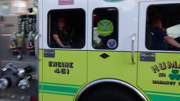Apparatus Parade during Citz Fest, Citizens Fire Company, Mahanoy City, 8-21-2015 (169)