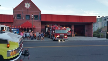 Apparatus Parade during Citz Fest, Citizens Fire Company, Mahanoy City, 8-21-2015 (17)