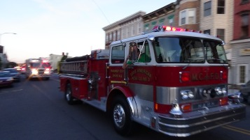 Apparatus Parade during Citz Fest, Citizens Fire Company, Mahanoy City, 8-21-2015 (171)