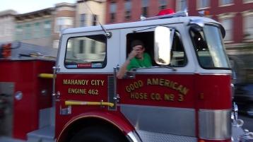 Apparatus Parade during Citz Fest, Citizens Fire Company, Mahanoy City, 8-21-2015 (172)