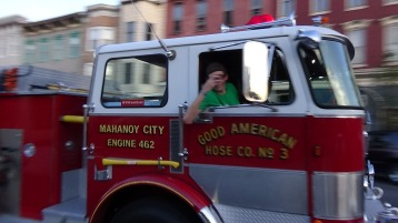 Apparatus Parade during Citz Fest, Citizens Fire Company, Mahanoy City, 8-21-2015 (172)