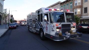 Apparatus Parade during Citz Fest, Citizens Fire Company, Mahanoy City, 8-21-2015 (173)