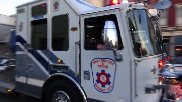 Apparatus Parade during Citz Fest, Citizens Fire Company, Mahanoy City, 8-21-2015 (174)