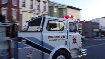 Apparatus Parade during Citz Fest, Citizens Fire Company, Mahanoy City, 8-21-2015 (176)