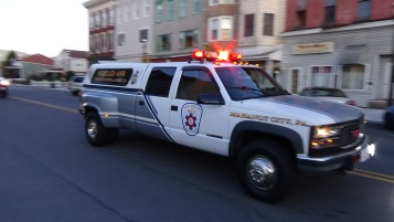 Apparatus Parade during Citz Fest, Citizens Fire Company, Mahanoy City, 8-21-2015 (177)