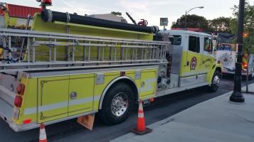 Apparatus Parade during Citz Fest, Citizens Fire Company, Mahanoy City, 8-21-2015 (18)