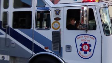 Apparatus Parade during Citz Fest, Citizens Fire Company, Mahanoy City, 8-21-2015 (180)