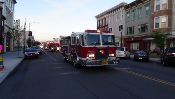 Apparatus Parade during Citz Fest, Citizens Fire Company, Mahanoy City, 8-21-2015 (185)
