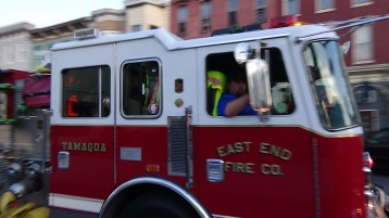 Apparatus Parade during Citz Fest, Citizens Fire Company, Mahanoy City, 8-21-2015 (186)