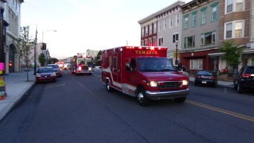 Apparatus Parade during Citz Fest, Citizens Fire Company, Mahanoy City, 8-21-2015 (187)