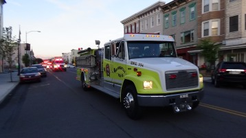 Apparatus Parade during Citz Fest, Citizens Fire Company, Mahanoy City, 8-21-2015 (190)