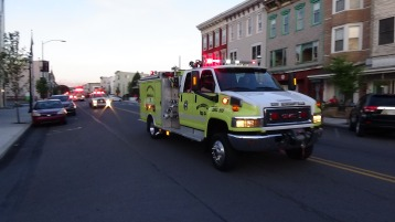 Apparatus Parade during Citz Fest, Citizens Fire Company, Mahanoy City, 8-21-2015 (192)