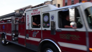 Apparatus Parade during Citz Fest, Citizens Fire Company, Mahanoy City, 8-21-2015 (197)