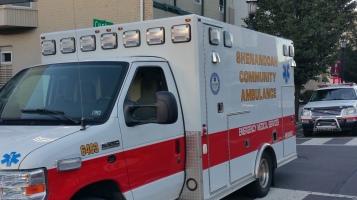 Apparatus Parade during Citz Fest, Citizens Fire Company, Mahanoy City, 8-21-2015 (2)