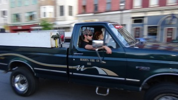 Apparatus Parade during Citz Fest, Citizens Fire Company, Mahanoy City, 8-21-2015 (201)