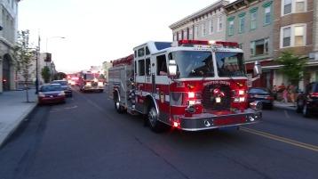 Apparatus Parade during Citz Fest, Citizens Fire Company, Mahanoy City, 8-21-2015 (202)