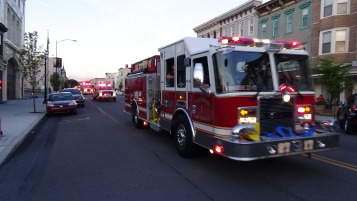 Apparatus Parade during Citz Fest, Citizens Fire Company, Mahanoy City, 8-21-2015 (203)