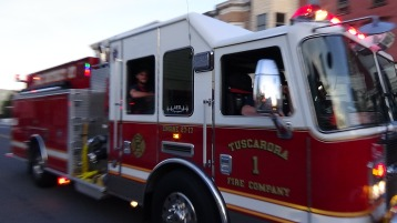 Apparatus Parade during Citz Fest, Citizens Fire Company, Mahanoy City, 8-21-2015 (204)