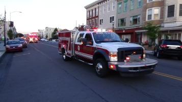 Apparatus Parade during Citz Fest, Citizens Fire Company, Mahanoy City, 8-21-2015 (205)
